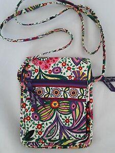 2f62be217e4 Vera Bradley Viva La Vera Mini Hipster Crossbody Bag Purse Floral ...