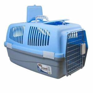 Portador-De-Viaje-Para-Mascotas-Grandes-Perro-Gato-Conejo-Cesta-Caja-Cajon-Jaula-de-mango-de