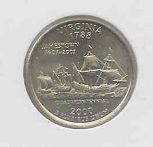 Amerika-quarter-2000-P-Unc-Virginia
