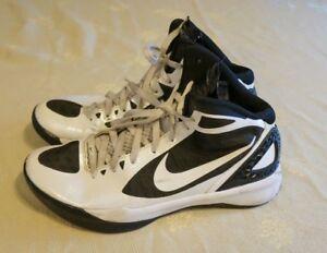 a6decb711b00b1 NIKE Zoom Hyperdunk Men s Black White Athletic Shoes Size US 9.5 ...