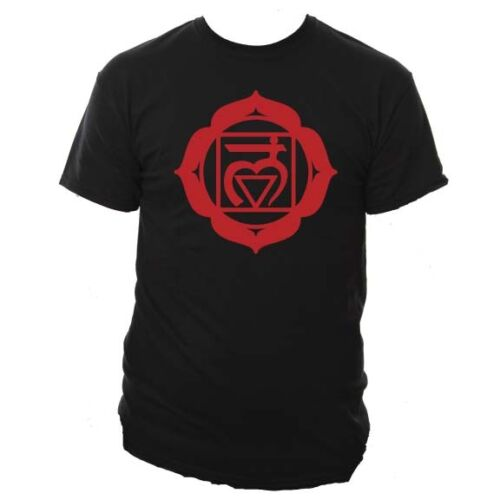 Chakra Yoga Mens Unisex Tshirt Meditation Buddha Sizes Small-XXL Various Colours