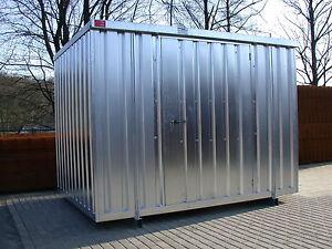 1 st ck container lagerhalle bauwagen halle gartenhaus - Container als gartenhaus ...