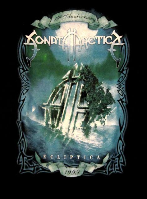 SONATA ARCTICA cd cvr 15th ANNIVERSARY - ECLIPTICA Babydoll SHIRT XL new