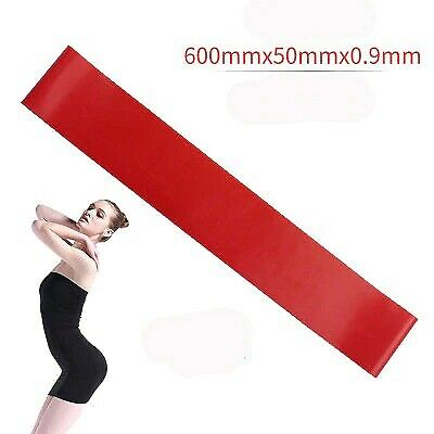 Details about  /5 Colors Yoga Resistance Rubber Bands Indoor Outdoor Fitness Equipment Training