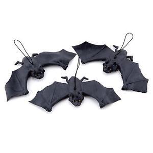 Black-Hanging-Rubber-Vampire-Bat-Toy-Prop-Halloween-Party-DIY-Decor-Trick-Toy