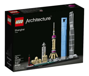LEGO Architecture 21039 Shanghai Chenghuang Miao Temple Shanghai Tower N1/18