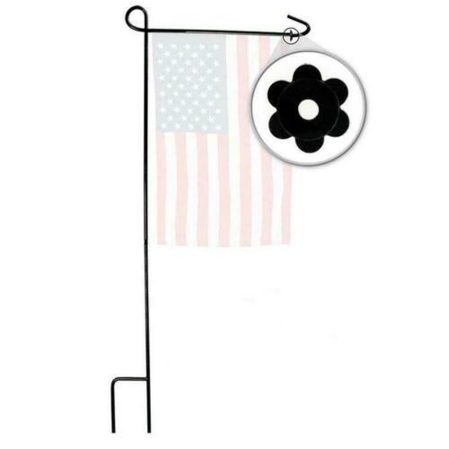 1Set Garden Flag Pole Stand Rubber Stopper Flower Shape Rubber Stoppers MIN O6O6