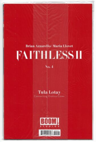 Studios Faithless II #4 2020 Polybagged Lotay Erotica Connecting Variant Boom