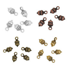 50730 Antique Bronze Alloy Hollow Handle Keys Crafts Charms Pendants Jewelry 7x
