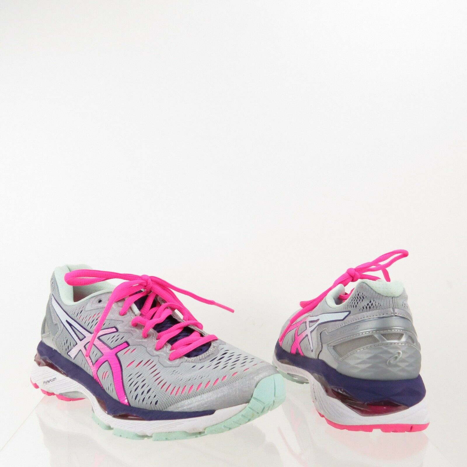 Femme Asics Gel-Kayano 23 Chaussures Gris Synthetic Running Sneakers