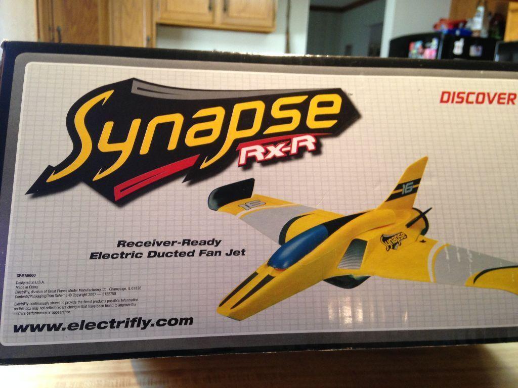 Nuevo R C Electrifly sinapsis Ducted Fan Jet RXR-receptor listo versión