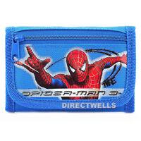 Spiderman Blue Wallet