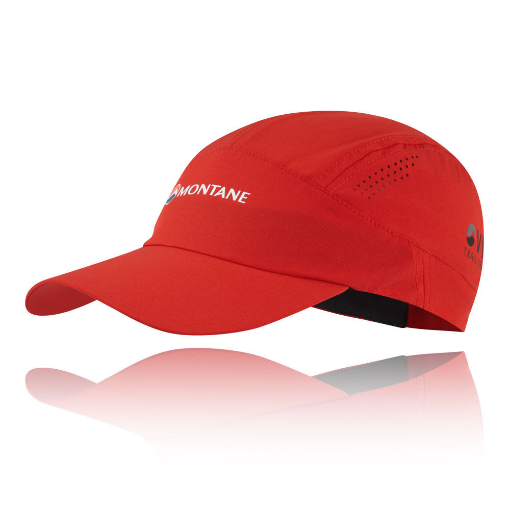 Montane Unisex Coda Cap Red Sports Outdoors Running Breathable Lightweight