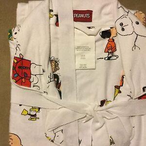 003f03efae Pottery Barn Teen PEANUTS ™ Flannel Pajamas Set MEDIUM Charlie Brown ...