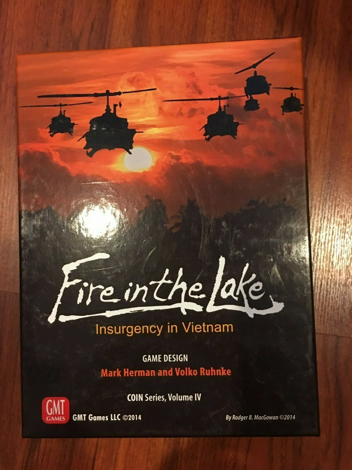 FIRE IN THE LAKE INSURGENCY IN VIETNAM GMT GAMES BOARD GAME NEW MINT CONDITION