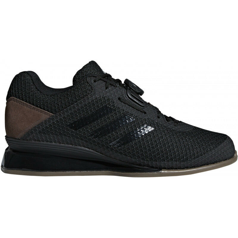 Mens Adidas Leistung 16 Ll Weightlifting shoes - Black