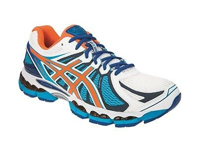 Asics Gel Nimbus 15 Lite Show Mens Trainers White Orange T33UQ 0130 14 UK 50.5EU | eBay