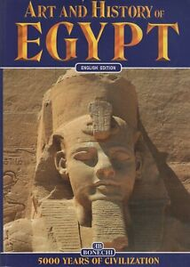 EGYPT-Art-amp-History-ENGLISH-EDITION-5000-Years-of-Civilization-Bonechi-Book