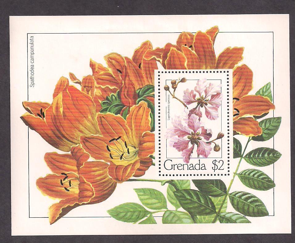 Grenada Stamp-Scott  # 1097/A152-Souvenir Sheet-Mint/NH-1982