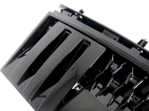 Negro Completo Rejilla De Aire Ventilación Lateral Autobiografía Estilo Range Rover L322 paquete de diseño