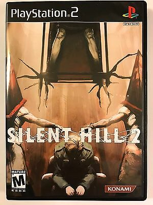 Silent Hill 2 Playstation 2 Replacement Case No Game Ebay