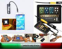 IK MULTIMEDIA iRig Interfaccia per ANDROID SAMSUNG LG NEXUS iPhone iPod iPad.