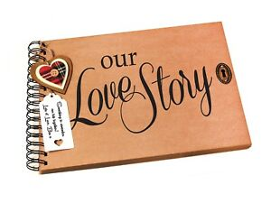 A4-A5-Our-Love-Story-Scrapbook-Photo-Album-Valentines-Romantic-Gift-Idea