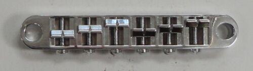 GUITAR TUNE-O-MATIC BRIDGE CHROME M 003 FOR LES PAUL STRING SP 2 1//16 BRAND NEW
