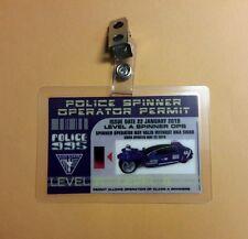 Blade Runner ID Badge-Police Spinner Operator Permit prop costume cosplay