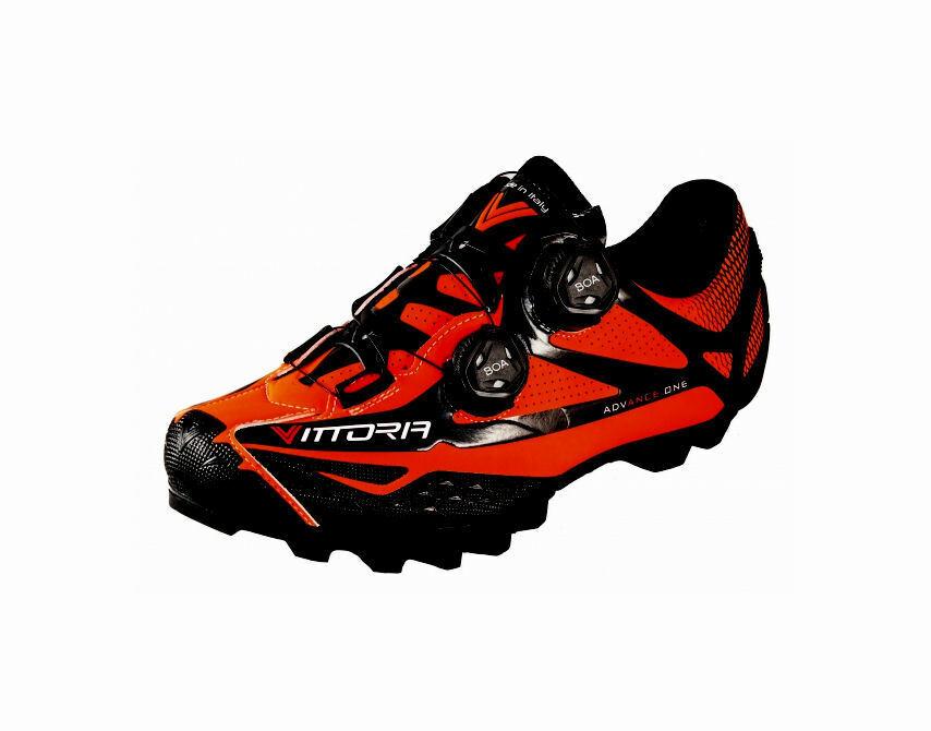 Scarpe bici corsa Vittoria Vittoria Vittoria Ikon MTB Comp xecarb 30 bike scarpe 41 arancio arancia 2f445f