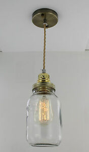 Image is loading Edison-Bulb-Vintage-Industrial-Pendant-Light-Mason-Kilner-