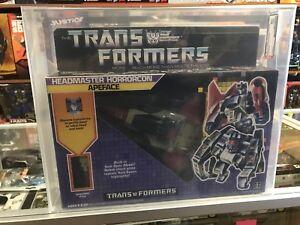 1987 Transformers Vintage Série 4 Directeur Horrorcon Apeface Afa 80y