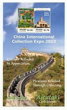 Aitutaki - Postfris / MNH - Sheet Expo China 2013