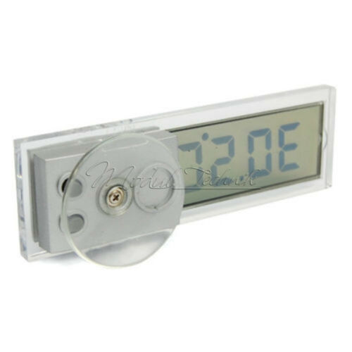 Digital LED Auto Car In-Outdoor Thermometer W//Sensor Temperature LCD Display NEW