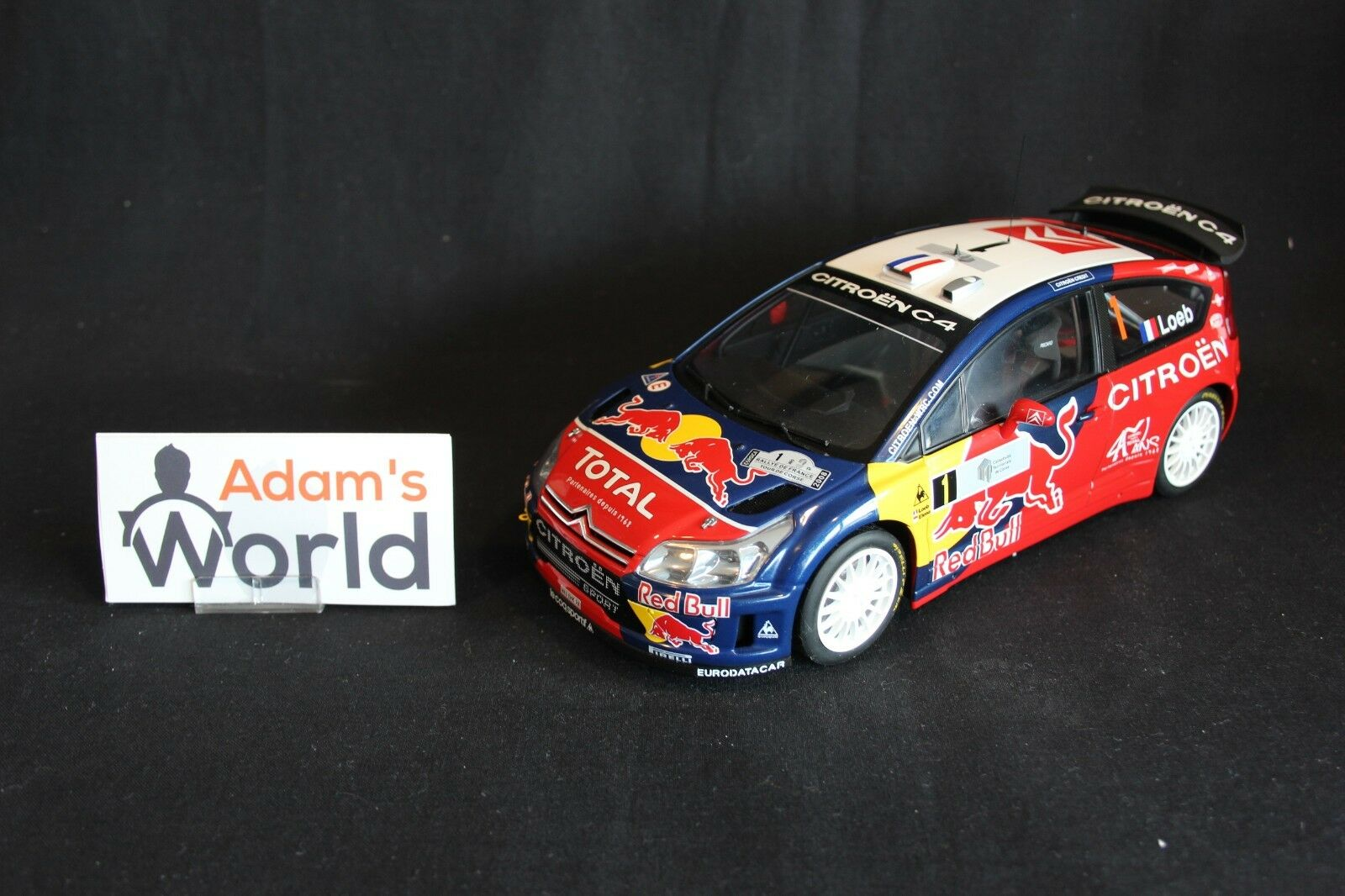 AutoArt Citroën C4 WRC 2008 1 18  1 Loeb    Elena Tour de Corse (JvdM)  économiser jusqu'à 50%