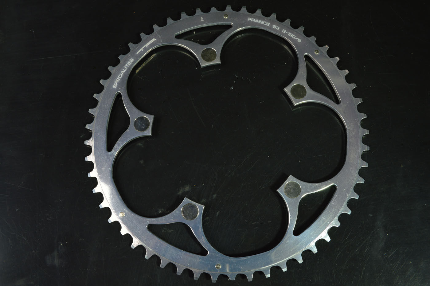 New chainring Specialites TA with bolts alloy 53 t bcd- 130
