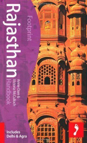 Rajasthan Handbook, 4th: Travel Guide to Rajasthan (Footprint --ExLibrary