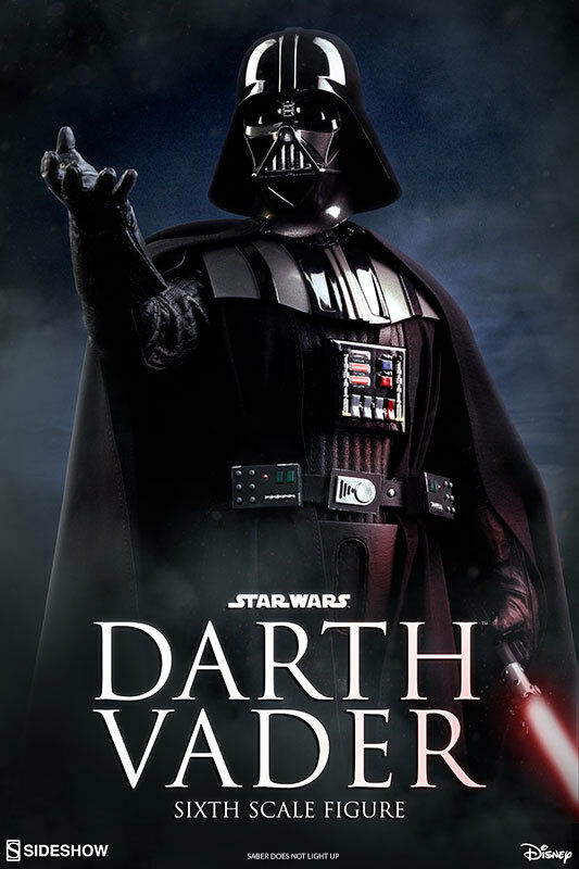 1/6 Sixth Scale Star Wars Return of the Jedi Darth Vader Sideshow  1000763
