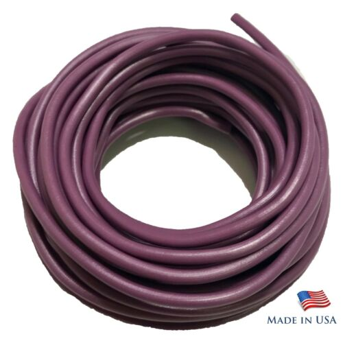 Made In USA 14 Gauge Purple Primary Wire AWG Stranded Copper 25 FT PowerPath