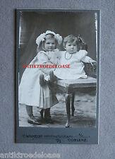 altes Kabinettfoto CDV Mädchen mit Puppe, Koblenz 1905 Echtfoto Photo