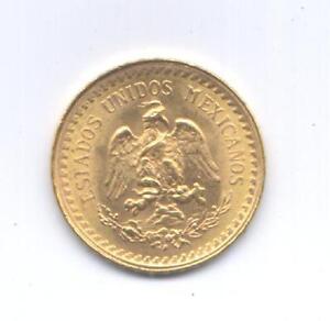 GOLD-ORO-MESSICO-DUE-E-MEZZO-PESOS-D-039-ORO-1945-OCCASIONE