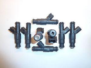 Tre-Flowmatched-60lb-EV6-Uscar-Carburante-Iniettori-di-Bosch-Siemens-Deka-IV-V8