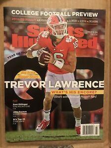 Trevor Lawrence Sports Illustrated-Regional Cover-No Label ...