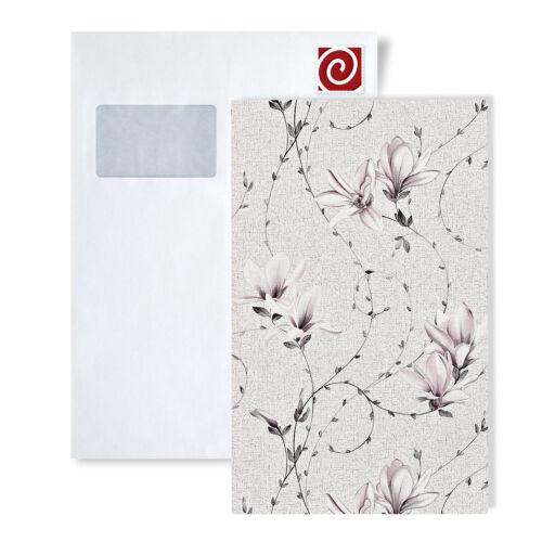 Tapeten MUSTER EDEM 902-SerieVliestapete Landhaus Design Florale Textiloptik