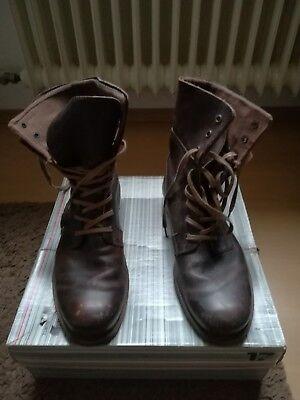 Used 45 Echtes Winterstiefel LookEbay 17 Leder Boots Braun Görtz l3FJ1cTK