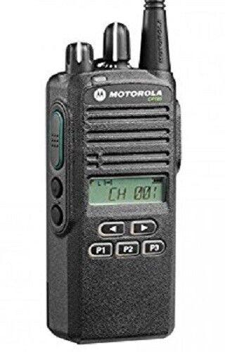 Motorola CP185 136-174 MHz VHF 5 Watt Radio Package AAH03KEF8AA7AN CP 185 16 CH