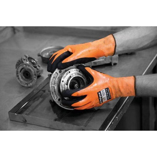 Polyco G10K3 Grip-It Oil C3 Double Dip Nitrile Cut Level 3 Gloves