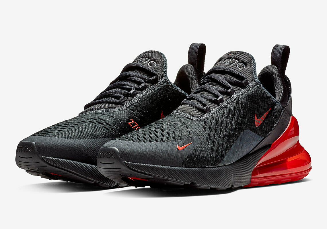 Details about NIKE MENS AIR MAX 270 REFLECTIVE UK 14US 15EUR 49.5 BLACKRED (BQ6525 001)