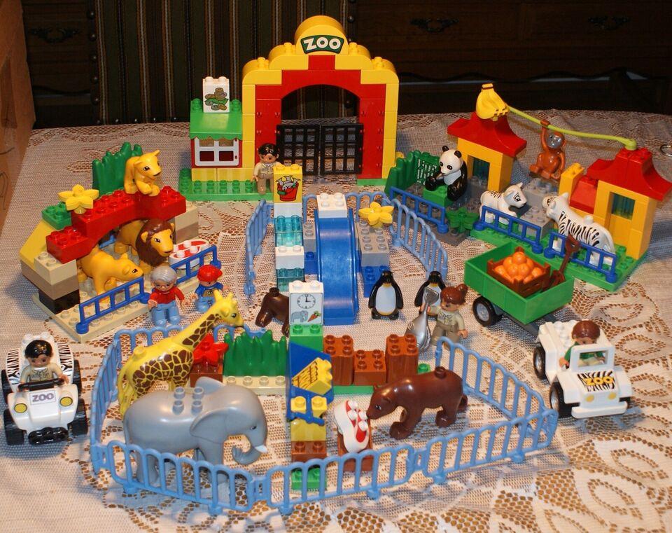 Lego Duplo, 6157 stor zoo