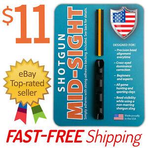 MADE-IN-USA-Ghost-Ring-Blaze-Orange-Fiber-Optic-Universal-Shotgun-Sight